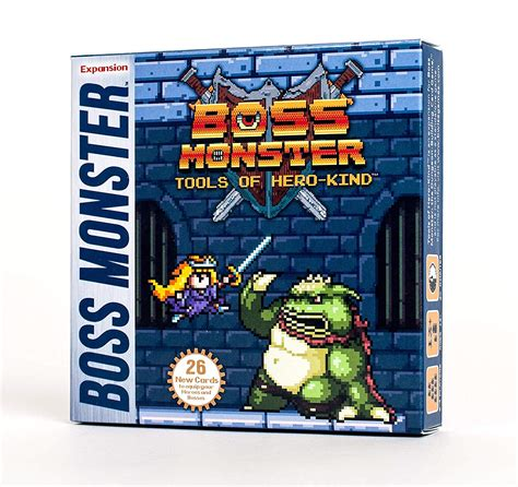 In the game, players take control of a boss monster whose objective is to build a dungeon that will lure in heroes and destroy them in order to capture their souls without taking. Boss Monster: Tools of Hero-Kind   Across the Board Game Cafe
