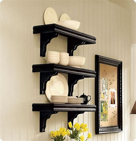 cafe shelves   long wall knockoffdecorcom