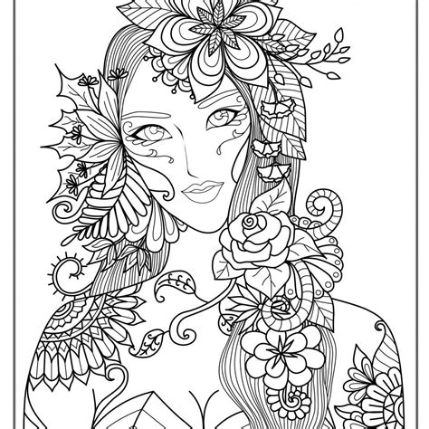 intricate mermaid coloring pages  getcoloringscom
