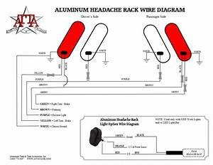 Aluminum Headache Rack Installation Instructions