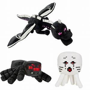 3Pcs/Lot Minecraft Deluxe Ender Dragon Spider Ghast Cheap ...