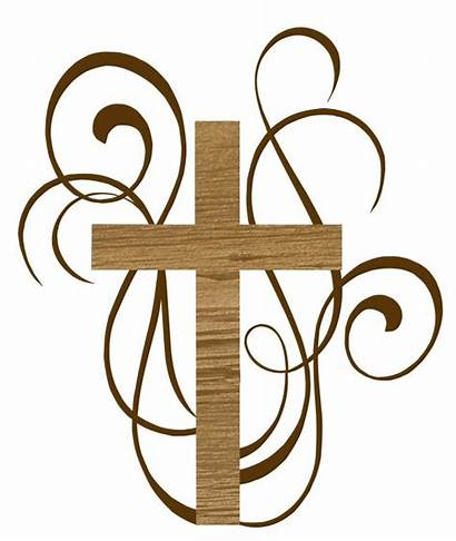 Catholic Cross Baptism Funeral Ministry Clipart Christian