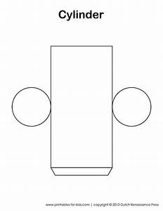 cylinder template also has templates to other 3d figures With cylinder packaging template