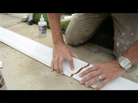 perfect seams joining trim  mouldings youtube
