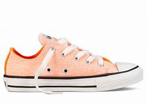 Converse Chuck Taylor All Star Lo Top Neon Orange F