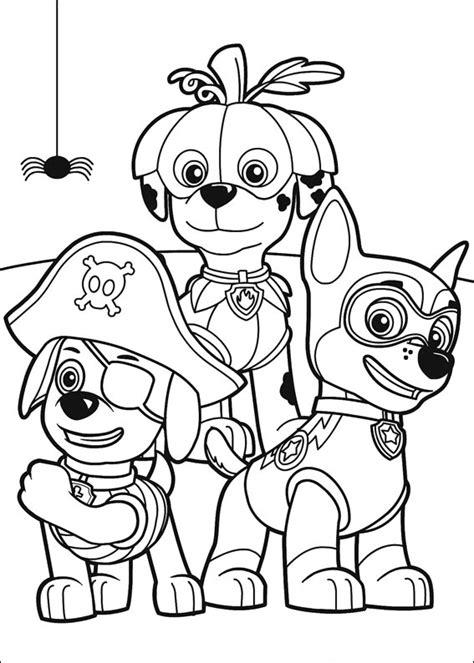 darmowe kolorowanki z bajki psi patrol dla dzieci