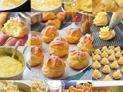 Pada resep ini, topping yang digunakan terbuat dari parutan kelapa. Soes Vla Durian / Durian Choux yummy 👍👍 | Resep di 2020 | Resep, Makanan enak, dan Makanan minuman