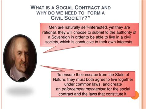 Nature Of Man, State Of Nature And Social Contract -- John