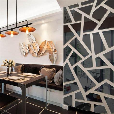 20+ Choices Of Abstract Mirror Wall Art  Wall Art Ideas