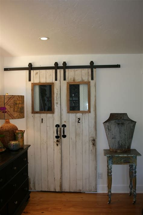 Barn Door by The Polished Pebble The 4 Doors Barn Door Project Finished