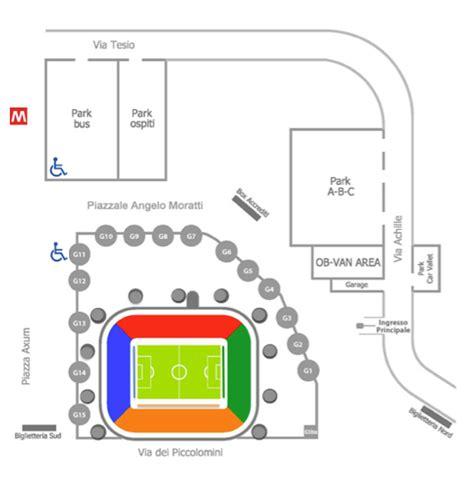 Stadio San Siro Ingressi F C Internazionale Sito Ufficiale It Stadio