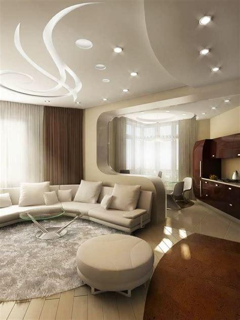 cuisine avec led faux plafond pratique et esthétique
