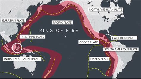 ring  fire  indonesia    earthquakes