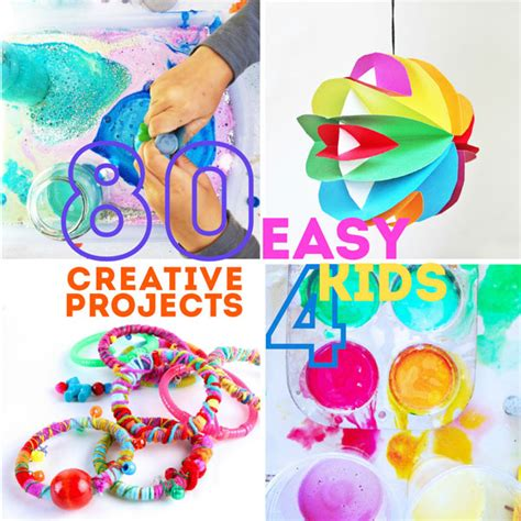 80 easy creative projects for babble dabble do 998 | 80 Easy Creative Projects for Kids FB