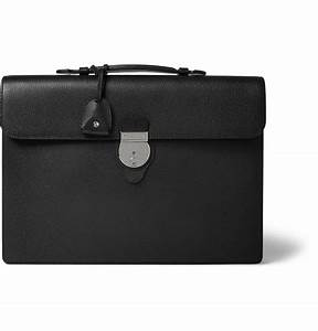 Gucci Leather Briefcase in Black for Men - Lyst
