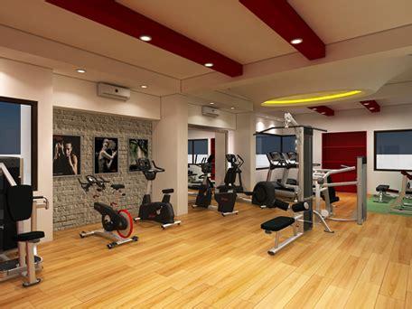 Commerical & Home Gym Interior Design Ideas In India