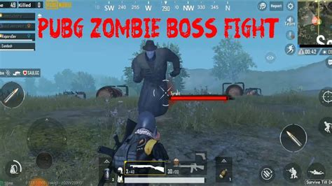 Pubg mobile has released the beta version of the upcoming update 0.11.0 that will include the new zombie mode. PUBG Zombie Boss Fight - YouTube