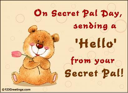 Secret Pal Sister Card Quotes Sayings Reveal
