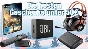 Geschenke Für 50 Euro : die 7 besten technik geschenke unter 50 euro weihnachten 2017 geschenke tipps youtube ~ Frokenaadalensverden.com Haus und Dekorationen