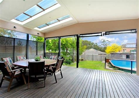 skylight deck roof diy verandah porch cabin inspiration