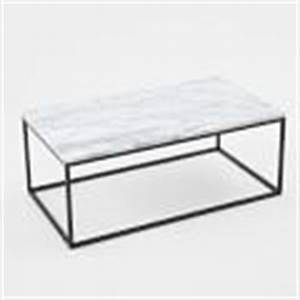 box frame skinny console marble antique bronze west elm With box frame coffee table marble top