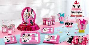 Minnie Mouse 1st Birthday Party Supplies - Party City