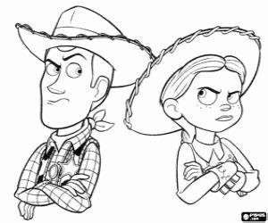 Toy Story coloring pages printable games