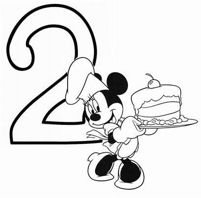 Minnie Mouse Birthday Coloring Pages Sheets Clipartmag