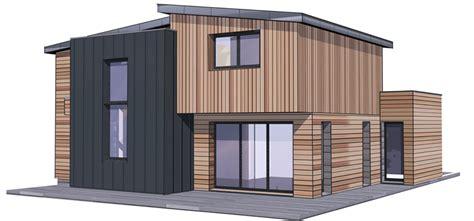 prix construction maison bois pas ch 232 re