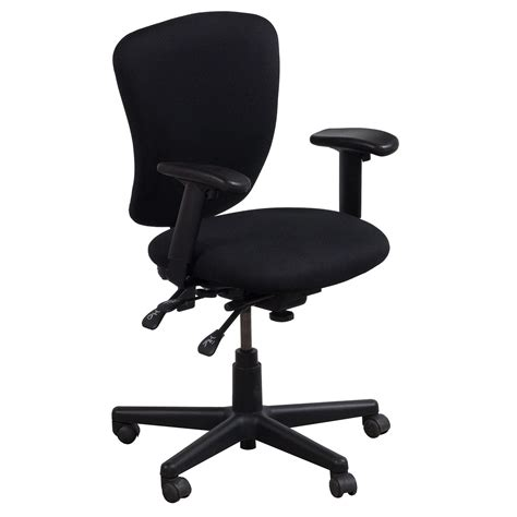 ergonomic comfort design fast track used task chair black