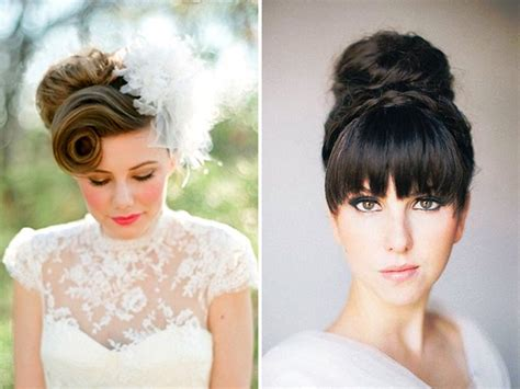 Wedding Hairstyles : Got Bangs? 5 Fringe Friendly Wedding Hairstyles