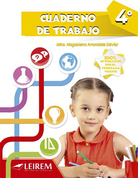 Cuaderno de Trabajo 4to Grado by Daniel Salinas Gonzalez