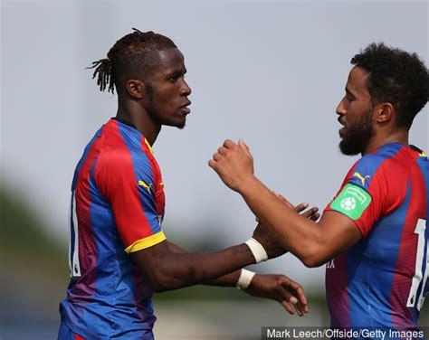 Andros Townsend wants Wilfried Zaha stay at Crystal Palace ...