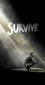 The Walking Dead Season 5 Survive Rick iPhone 6 Plus HD ...