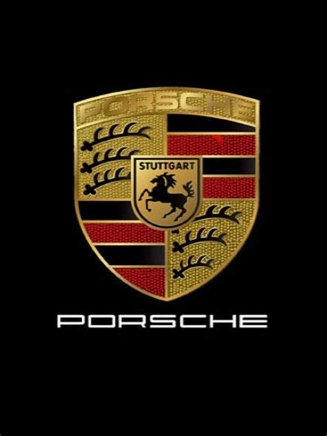 porsche logo black background porsche logo shield wallpaper iphone blackberry