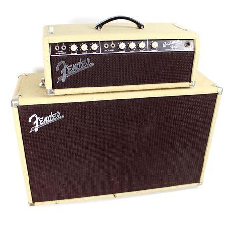 Fender Bassman Cabinet 4x12 by Vintage 1962 Brownface Fender Bassman 6g6 B 50w 2x12