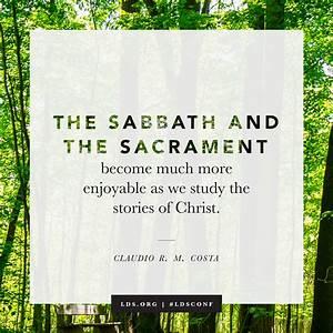 Study the Stori... Sacrament Quotes