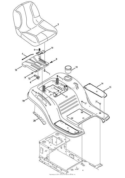 mtd blst  lt  parts diagram