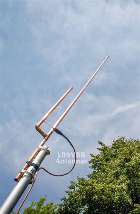 authentic kb9vbr j pole base antenna 2 meter dual band ham radio scanner ebay
