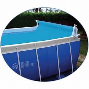 Bache À Bulles Piscine : enrouleur de b che bulles piscine hors sol pool style ~ Melissatoandfro.com Idées de Décoration