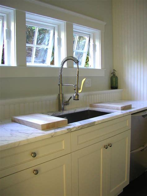 Beadboard Kitchen Walls  Cottage  Kitchen  Molly Frey