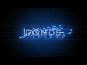 Neon Logo Reveal Royalty Free After Effects