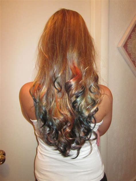 Tye Dyed Hair Hair Hair And More Hair Pinterest