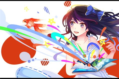 Colorful Anime Wallpaper - anime anime colorful original characters