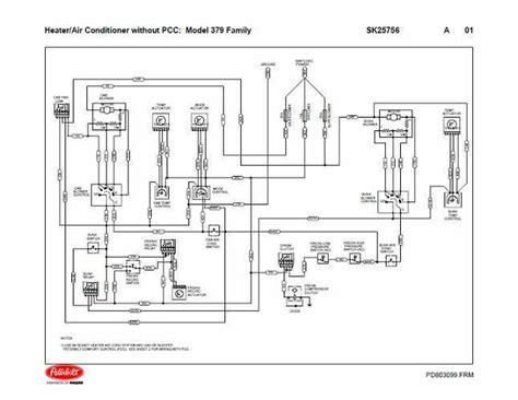 peterbilt  family hvac wiring diagrams
