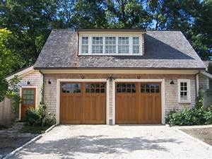 Carriage style garage doors garage and shed traditional for Carriage style garage doors with windows