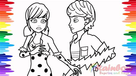 miraculous ladybug coloring pages  big reveal