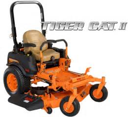 scag tiger cat scag tiger cat ii zero turn rider scag power equipment