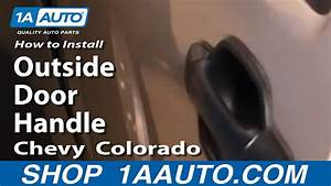 How To Replace Exterior Door Handle 04