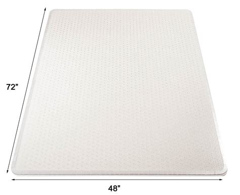 high pile carpet 25 quot thick chair mats w beveled edges